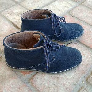 Florsheim Shoes - Florseim Navy Suede Quinlan Jr. Chukka Boot